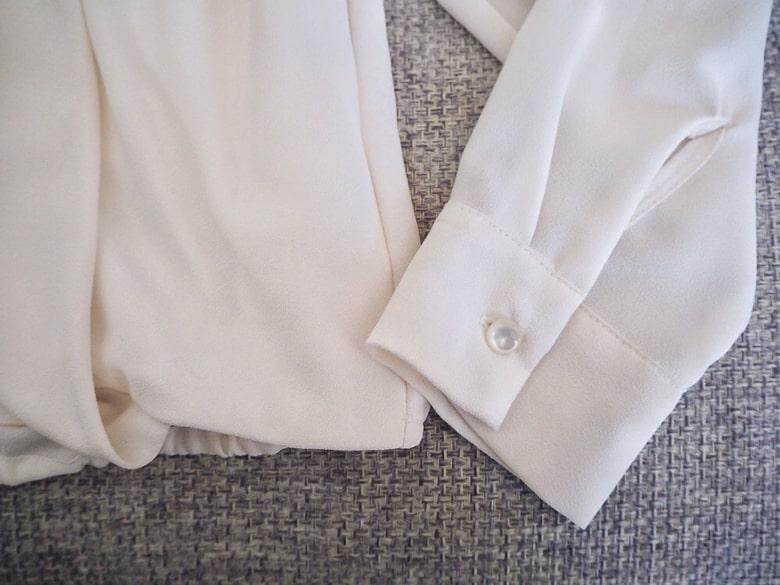 エアークローゼットの洋服の汚れ